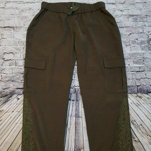 Haute Hippie Pull On Embroidered Pants Size small?